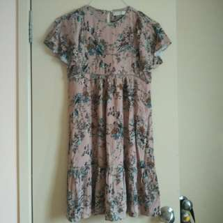 Zara Girls Casual Collection Floral Dress