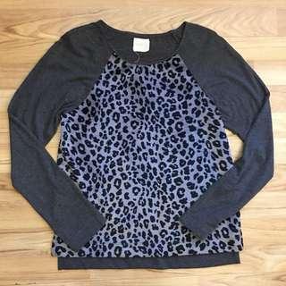 Zara printed sweater