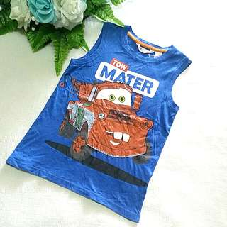 H&M Cars Boy Singlet