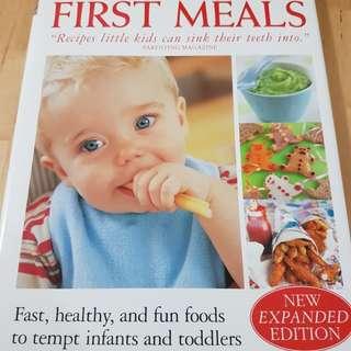Cookbook - First Meals by Annabel Karmel