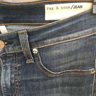 Rag And Bone Capri Skinny Jeans In Sonoma