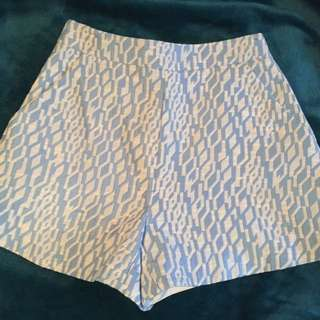 Kookai light blue printed shorts size 34(6)