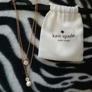 Kate Spade Pearl Pendant Necklace