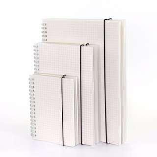 Minimalist Grid/Dotted Notebooks [PO]#XMASSALE