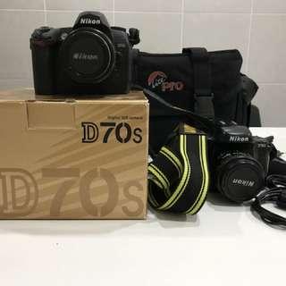 Nikon D70s + Nikon F50
