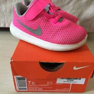 Authentic Sepatu Nike pink for girls with box