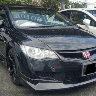 Honda Civic FD1.8A Full Loan