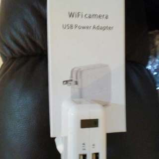 HD wifi enabled HIDDEN Cam/ phone charger