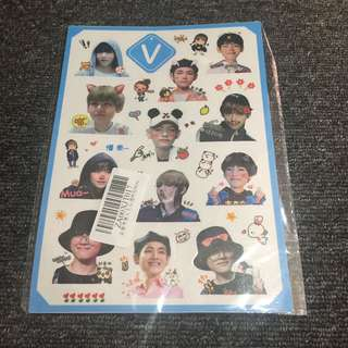 Taehyung Sticker Sheet