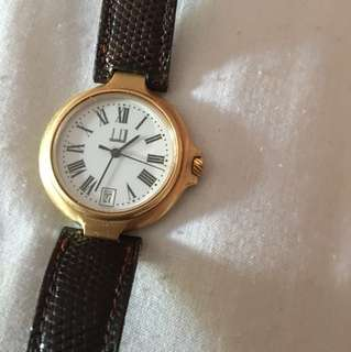 Dunuill ladies authentic watch