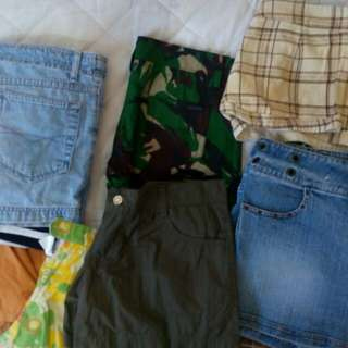 Assorted Shorts - 100 each