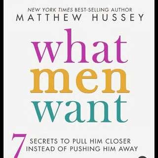 Matthew Hussey What Men Wants (E-book)