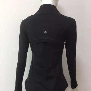 Lululemon jacket (New of 2017) super slim and chic