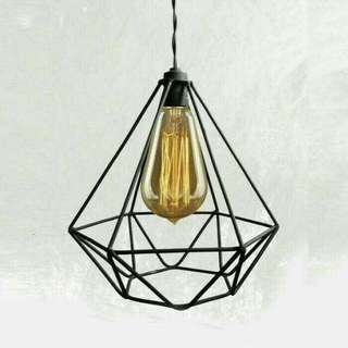 Kap lampu gantung diamond