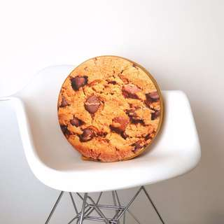 Choco Chip Cookie Pillow
