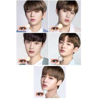 Wannaone Lens nine colour con