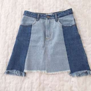 Minkpink Denim Skirt