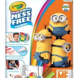 Crayola Color Wonder Mess Free Coloring: DESPICABLE ME MINIONS (752499)