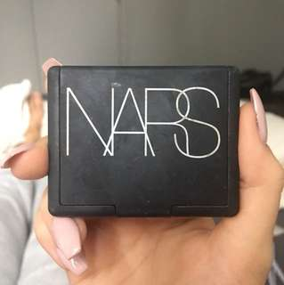 NARS orgasm blush only swatched got for $40 selling for $20