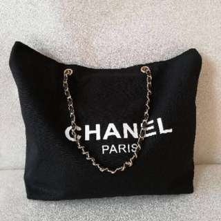 Brand new Authentic chanel canvas tote