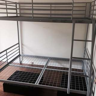 GREY IKEA BUNK FOR SALE!