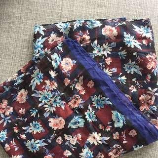Zara Floral Scarf