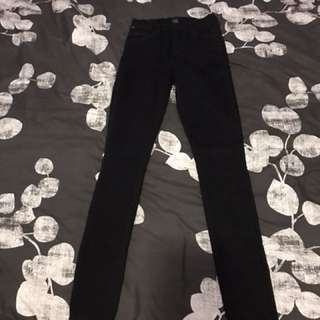 Citizen of humanity black pencil jeans sz27