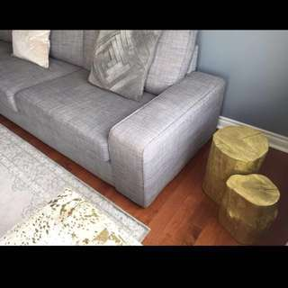*Reduced* A Pair Of Real Stump End Tables