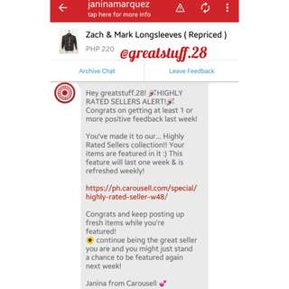 🎉2nd!🎉 Thank You, Carousell! ❤