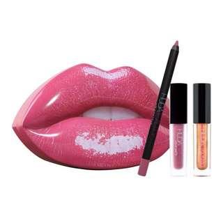 Huda beauty lip tin