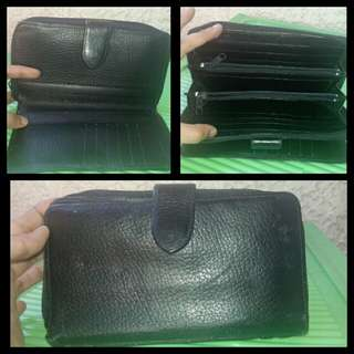 Black organizer wallet