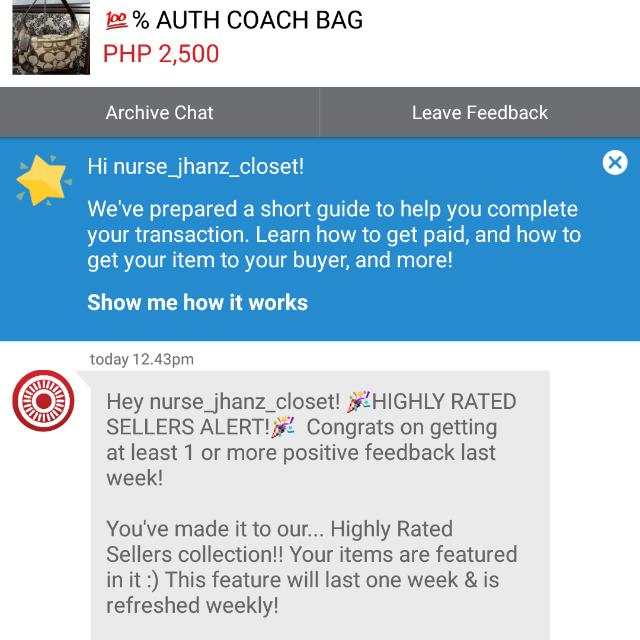 12th Time! Thanks Carousell