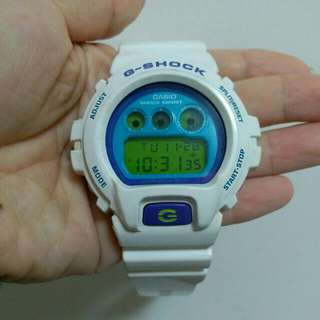 G-Shock DW-6900CS white watch