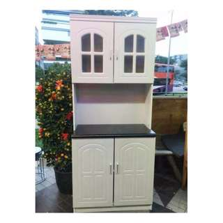 https://sg.carousell.com/furnituregurusingapore/ Open Daily 1pm to 10pm !!! Brand New Tall Kitchen Cabinet (white) .Your budget choice>>>>Last piece