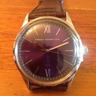 French Connection FCUK Dress Watch