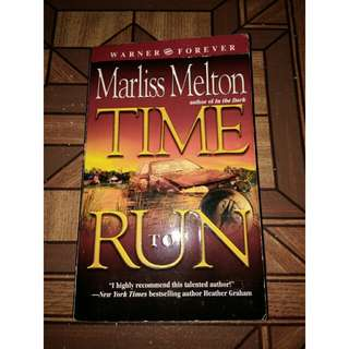 Time to Run by Marliss Melton (Warner Forever)