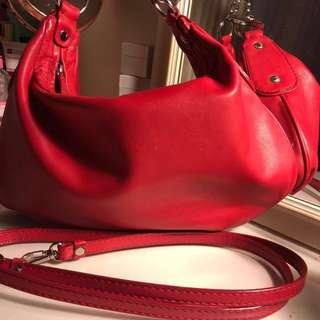 Oroton Red Handbag