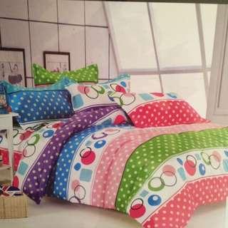 Brandnew 4in1 Bedsheet (Double size)