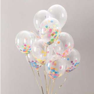 "Confetti Balloon (12"")"