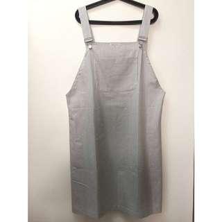 寬鬆超Q吊帶裙