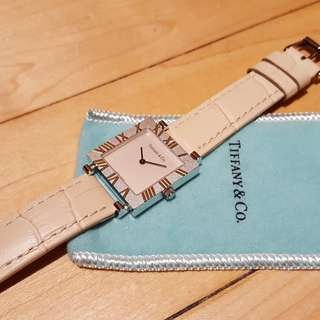 Tiffany & Co Atlas watch
