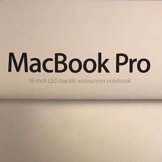MacBook Pro (only 3 years old)
