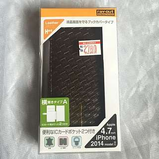 Ray-out iPhone 6 4.7 inch Leather Case 合皮套 電話套