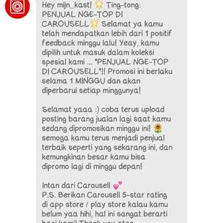 Thank you CAROUSELL.COM