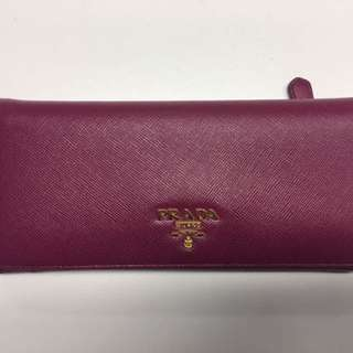Authentic Prada Saffiano Leather Wallet