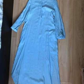 Zara Maxi Skirt With Side Slits