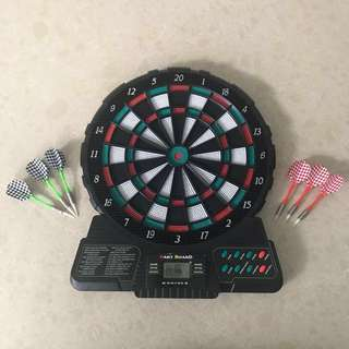 Electronic 12 inch Dart Board soft tip