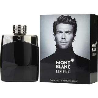 Mont Blanc Legend EDT for Men (30ml/50ml/100ml/Tester) MontBlanc Black