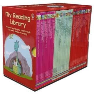 Usborne - My Second Reading Library With Clip Case