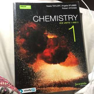 Chemistry text book 1/2